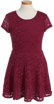 Ruby & Bloom 'Jessamine' Lace Dress (Little Girls & Big Girls)