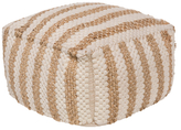 Surya Oak Cove Pouf