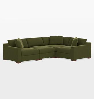 Rejuvenation Sublimity Luxe 4-Piece Sectional Sofa