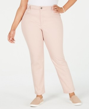 Style&Co. Style & Co Plus Size High-Rise Slim-Leg Jeans, Created for Macy's