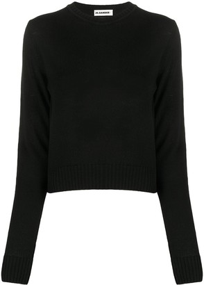 Jil Sander Long-Sleeve Wool Jumper