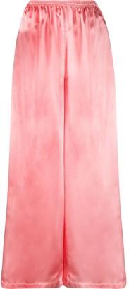MM6 MAISON MARGIELA Elasticated-Waist Flared Trousers