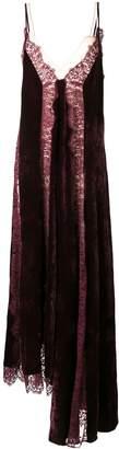 Stella McCartney Lace Slip Silk Dress