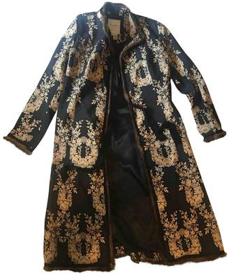 Tracy Reese Black Wool Coat for Women