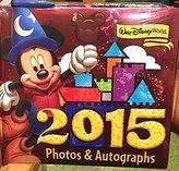 Disney Walt World 2015 Photo Album Autograph Book with Pen