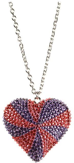 Tarina Tarantino Paramour Hearts Necklace (Lemonhead) - Jewelry