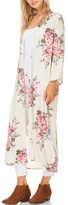 Cherish Long Floral Kimono