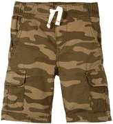 Carter's Mid Tier Shorts (Toddler/Kid) - Camo-8