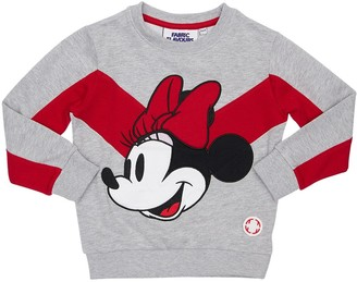 Fabric Flavours Minnie Mouse Printed Cotton Sweatshirt