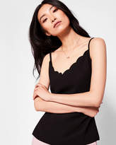 Ted Baker Scallop neckline cami top