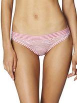 Stella McCartney Floral Lace Low-Rise Bikini Bottom