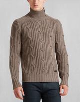 Belstaff Easterton Sweater Ls Bark