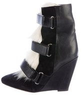 Isabel Marant Scarlett Wedge Ankle Boots