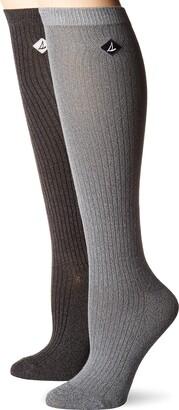 Sperry Women's 2 Pack Soft & Dreamy Knee Highs Socks