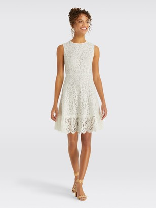 Draper James Lace A-Line Dress