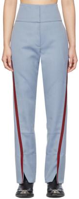 KIKO KOSTADINOV Blue Saturn Waist Trousers