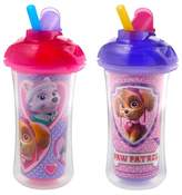 Munchkin PAW Patrol Click Lock 9oz Insulated Straw Cup, 2 Pack