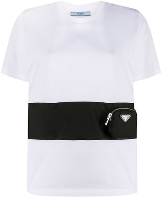 Prada zip pocket T-shirt
