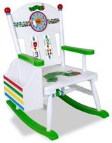 Levels of Discovery Very Hungry Caterpillar Rocking Chair in White