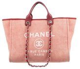 Chanel Large Deauville Tote