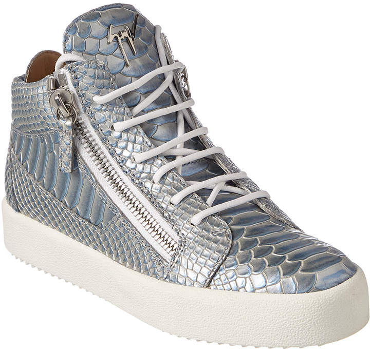 36f022d47 Giuseppe Zanotti Leather Sneakers - ShopStyle