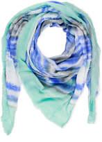 Saachi Tie Dye Striped Multi Way Scarf