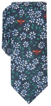 Bar III Men's Coppola Floral-Print Necktie, Created for Macy's