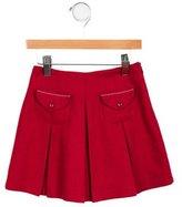 Jacadi Girls' Wool-Blend Pleated Skirt