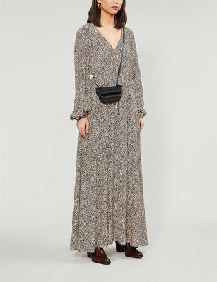 Zadig & Voltaire Rikko leopard-print crepe maxi dress