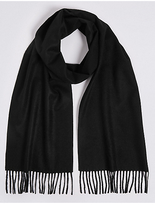 M&S Collection Pure Cashmere Woven Scarf