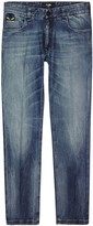 Fendi Dark Blue Slim-leg Jeans