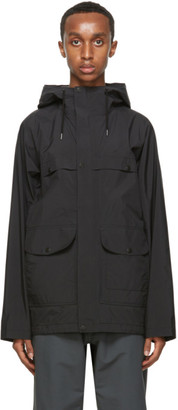 Nanamica Black Gore-Tex Cruiser Jacket