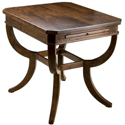 Thumbnail for your product : MacKenzie-Dow End Table Color: Vintage Red