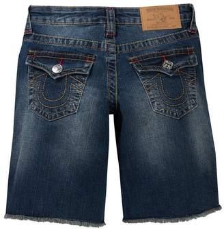 True Religion Slim Single End Shorts (Big Boys)
