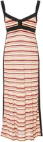 Jill Stuart Matie Multi Color Stripe Knit Dress
