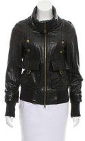 Nicholas K Tailored Leather Jacket