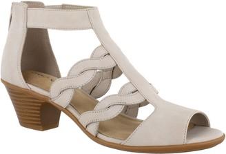 Easy Street Shoes Low Heel Sandals - Daughtry