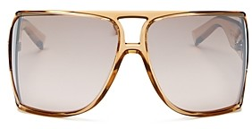 Givenchy Unisex Flat Top Square Sunglasses, 72mm