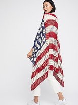 Free People Lady Liberty Crochet Shawl
