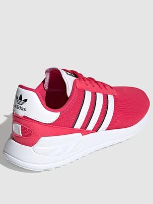 adidas La Trainer Lite Junior Trainers - Pink/White