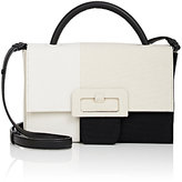 Maison Margiela Women's Buckle Large Satchel-BLACK