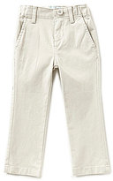 Class Club Little Boys 2T-7 Flat-Front Twill Chino Pants
