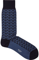 Reiss Zimmer Patterned Socks