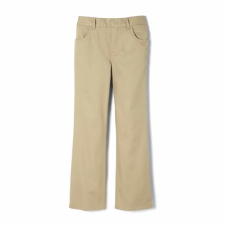 French Toast Big Girls Twill Pull-On Pant