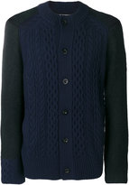 Sacai knit buttoned cardigan