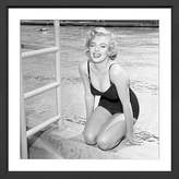 William Stafford Poolside Marilyn Art