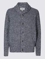 Marks and Spencer Shawl Neck Textured Cardigan