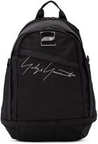 Yohji Yamamoto Black Sports Backpack