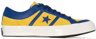 Converse Green Collegiate One Star Academy suede low top sneakers