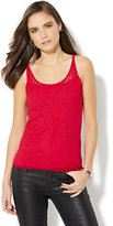 New York & Co. Lace Tank Top